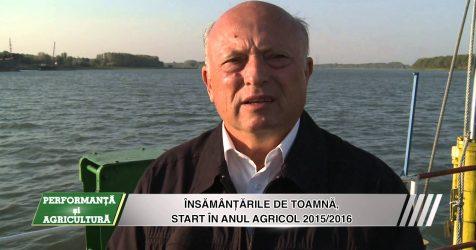 AGRICOST – 9 octombrie 2015, Instruirea pentru insamantarile de toamna
